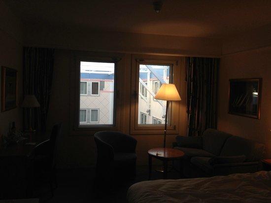Thon Hotel Oslofjord: View on to the atrium