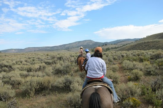 Granite Mountain Outfitters: On the trail
