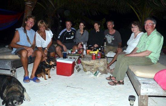 Sin Duda Villas: margo-ritas on the beach