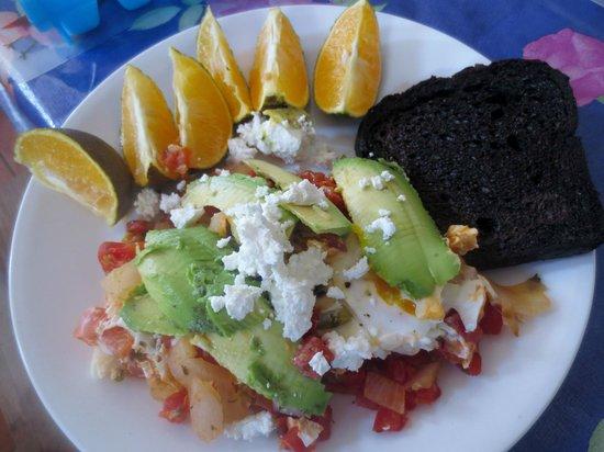 Sin Duda Villas: breakfast
