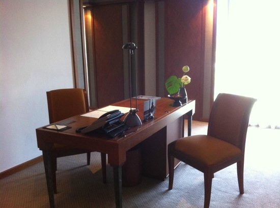 The Sukhothai Bangkok: working in style in an Executive suite