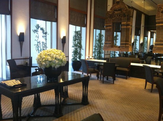 The Sukhothai Bangkok : the beautiful lobby