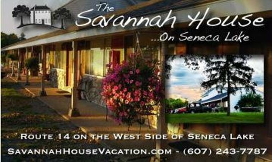 The Savannah House Inn: Savannah House Inn & Cottages on Seneca Lake