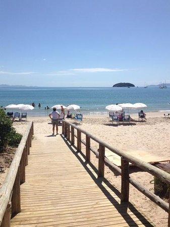 Pousada Casa Sin Nombre: la spiaggia davanti alla pausada
