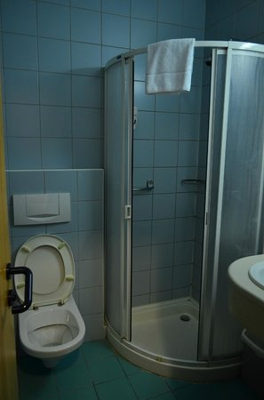 City Hotel Matyas: Bathroom in r.204