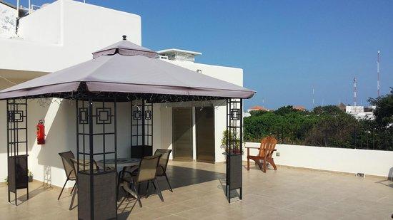 Suites Corazon: terrasse