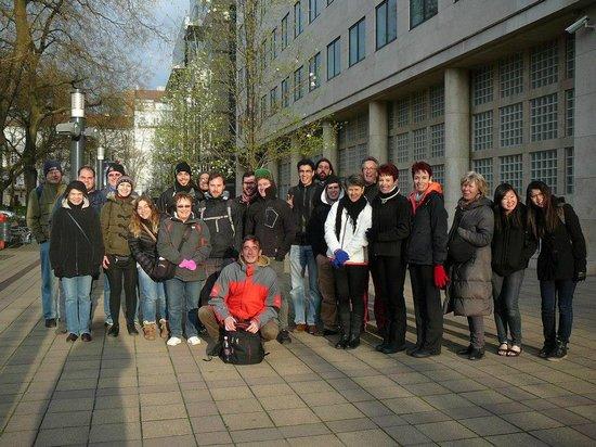 Free Budapest Walking Tours: Group photo