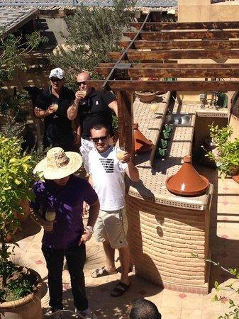 Riad L'Emir : photo prise sur le toit