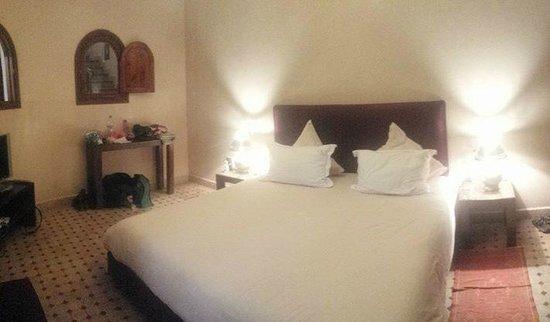 Riad L'Emir : superbe chambre immense