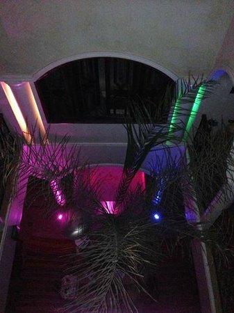 Riad L'Emir : salon vu de la terrasse juste splendide