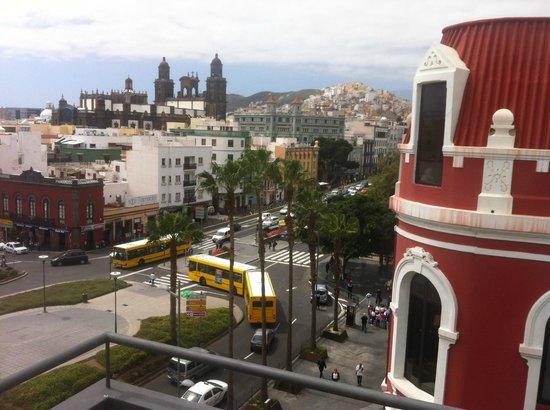 Teatro Pérez Galdós: Blick von der Dachterrasse