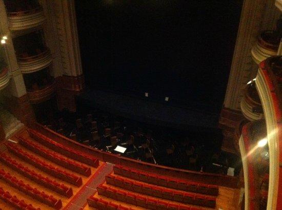 Teatro Pérez Galdós: Der Theaterraum