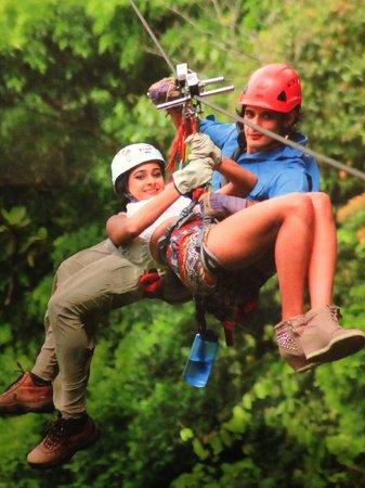Sky Adventures - Arenal Park: 600ft high