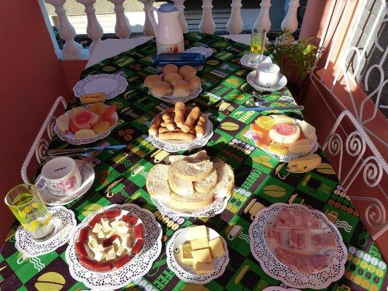 Villa Los Pandaderos: le petit-déjeuner pour 2