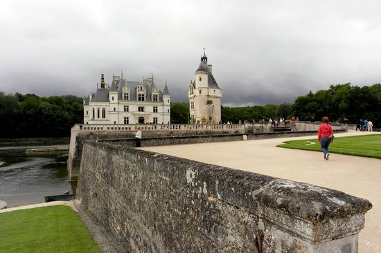 Schloss Chenonceau: Least crowded early in the week and on rainy days