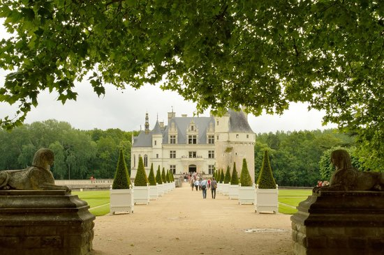 Château de Chenonceau : This is an amazingly beautiful chateau