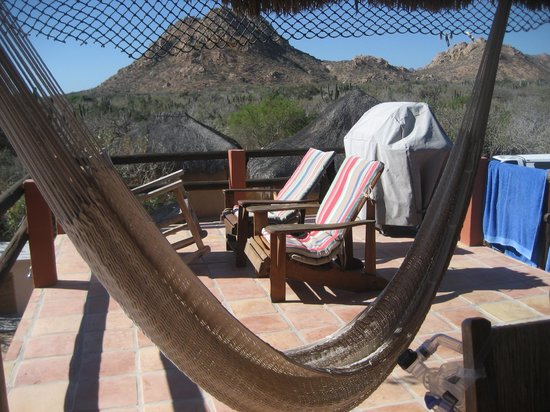 Baja Bungalows: Deck, Upper New House