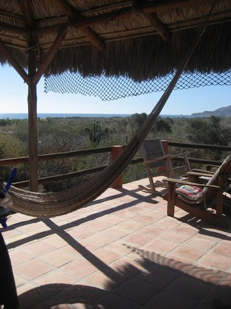 Baja Bungalows: View from deck, Upper New House