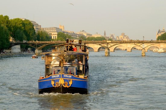 Paris, France : It's well worth taking a 1-2 hour cruise to see many sites from a different perspective.