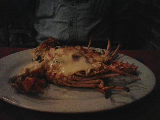 Las Bovedas: Lobster