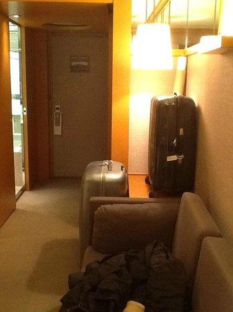 Grand Hyatt Seoul: Pas de place pour les valises
