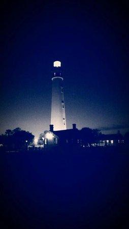 Lighthouse Point Park: Light house B/W