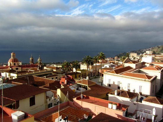 Hotel Rural Victoria: View from roof terrace, La Orotava