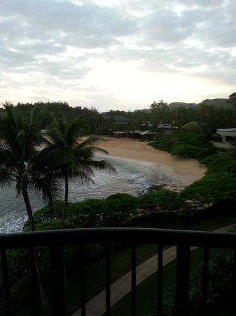 Turtle Bay Resort: View from room 352