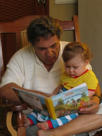 Pedrito Hostal: lecture avant le dodo