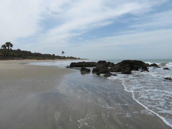 Nemasu Eco-lodge: Beach at Nemasu