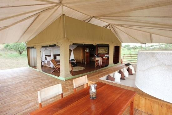 Serengeti Bushtops Camp: home sweet home in the serengeti