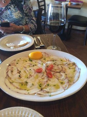 Trattoria Toscana: octopus appetizer