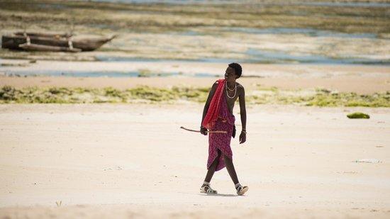 Dongwe Ocean View: Еще масай