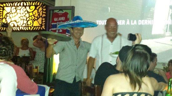Los Tabernacos Sports Bar and Lounge: des propriétaires