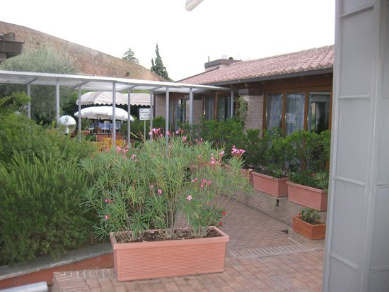 Hotel Il Giardino di SIENA: Giardino