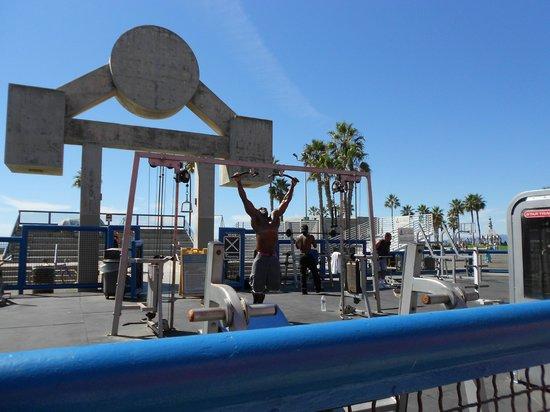 Seaview Hotel: Muscle Beach