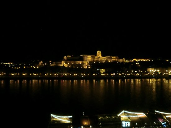 InterContinental Budapest: View across the Danube