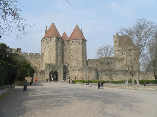 Liste des comtes de Carcassonne : Narbonne Gate - entrance to the Cite