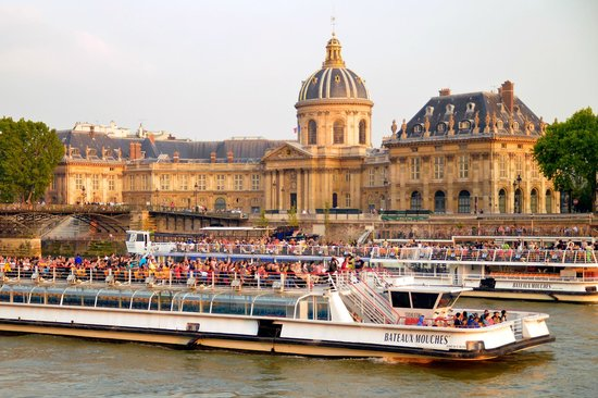 Paris, France : Many cruises depart from the ILE; well worth it for an entirely different perspective on the cit