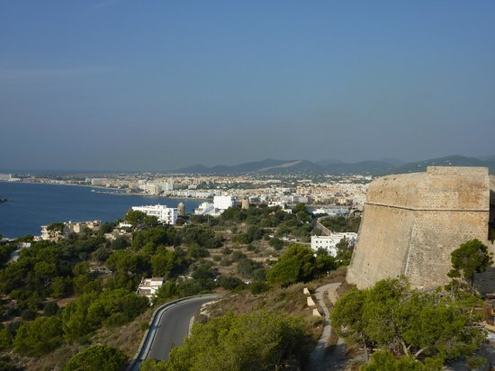Ibiza Stadt und Burg: View From Castle of Ibiza
