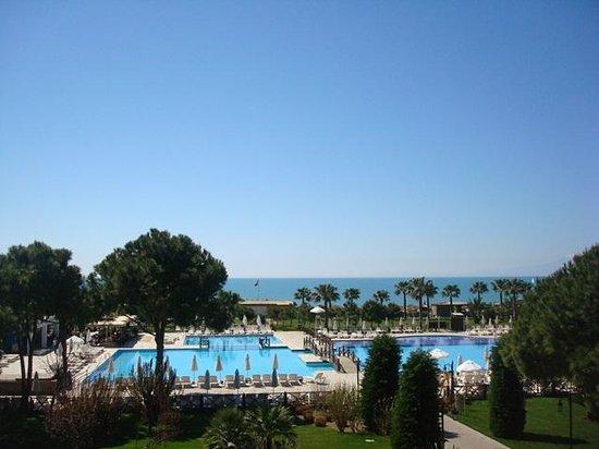 Voyage Belek Golf & Spa : main pool view
