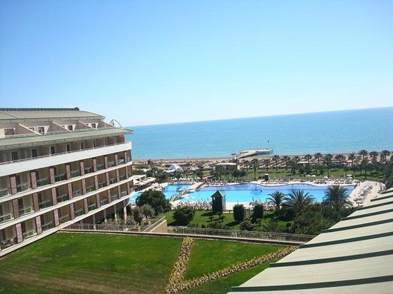 Voyage Belek Golf & Spa : view from balcony