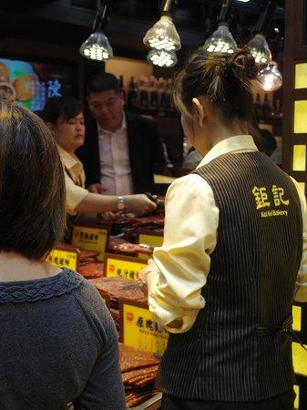 Koi Kei Bakery: their range of BBQ meat