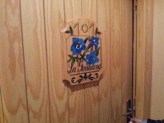 Le Bois Joli: Puerta de la habitación