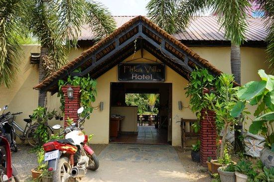 Front of Phka Villa