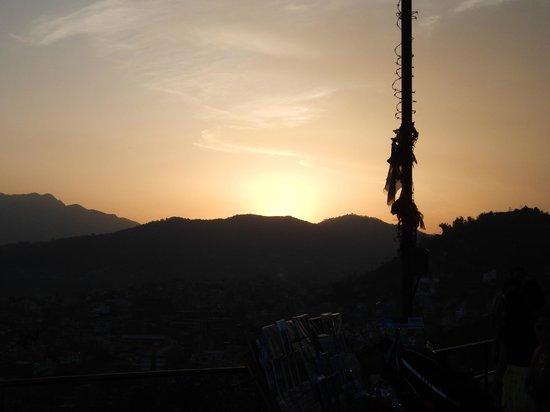 Swayambhunath-Tempelkomplex: Tramonto a Swayambhunath