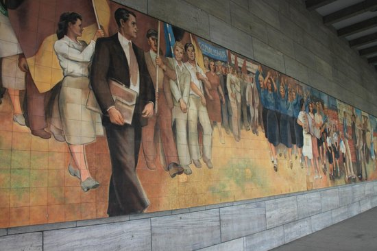 Berlin Urban Adventures: DDR Socialist ideals.