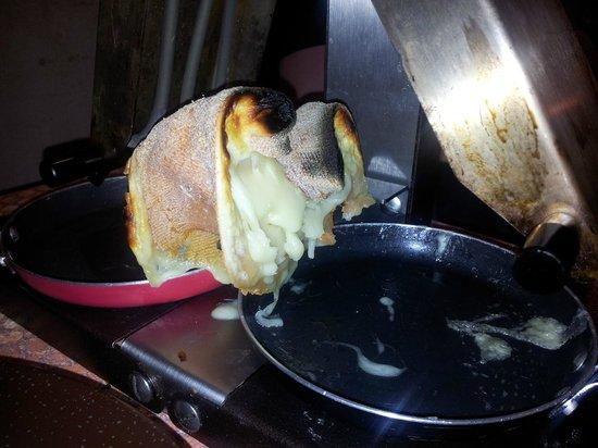 La Grande Fache : Así acabo la raclette