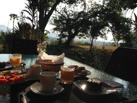 B&B  Residence Las Lajas: la vista al mattino