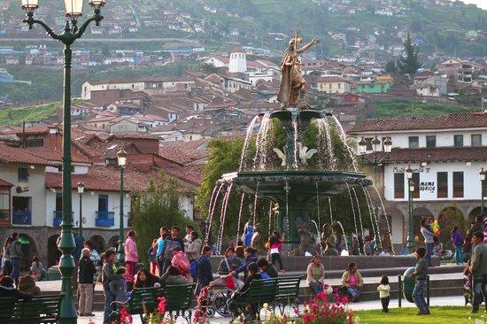 Centro Historico De Cusco: Clima ameno e altitude